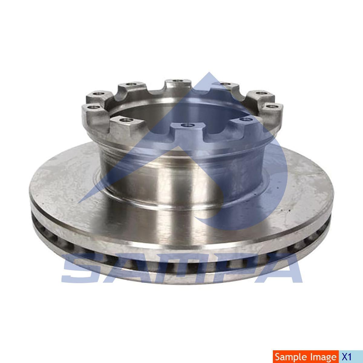Тормозной диск SAF 377х45/12мм photo