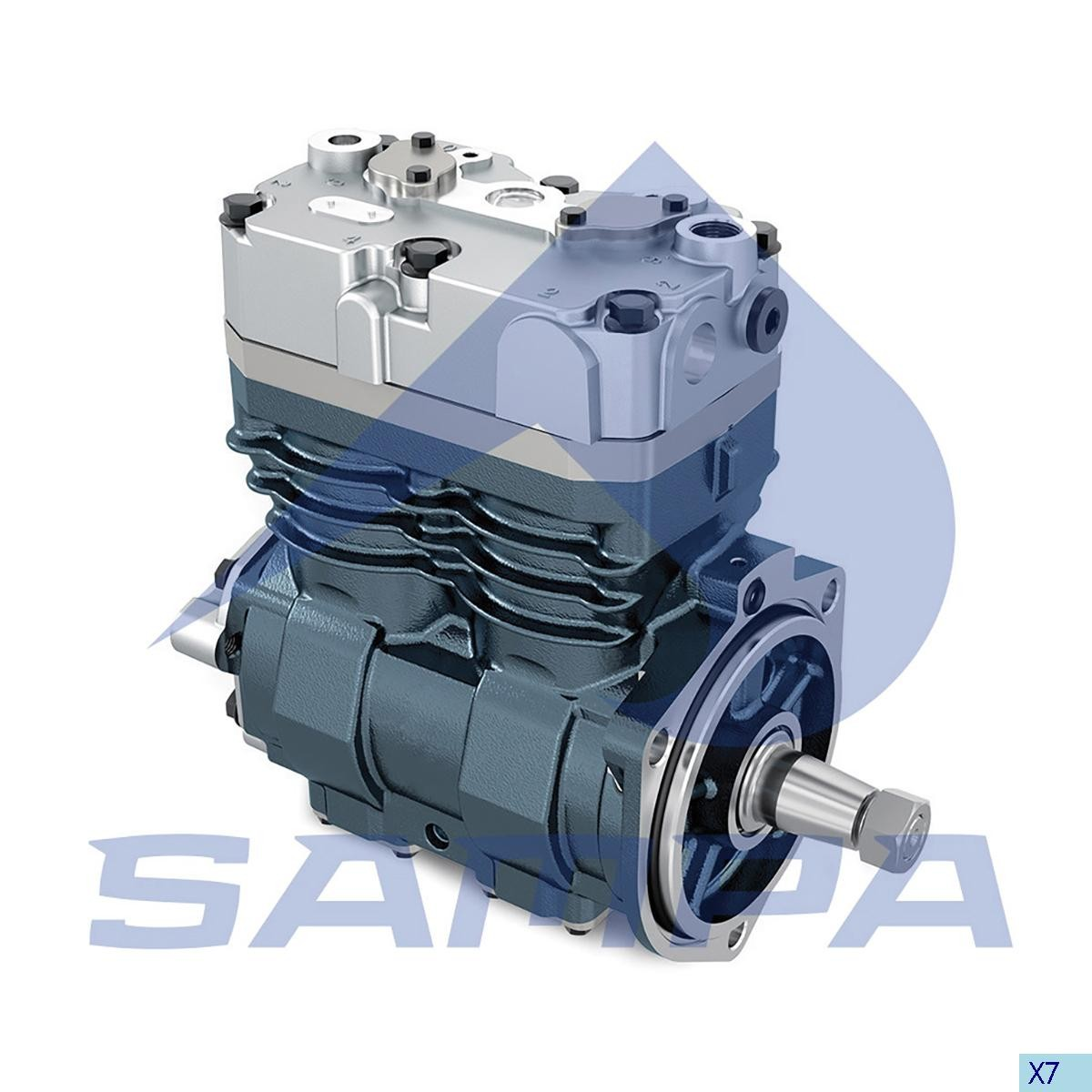 Compressor Iveco Stralis Knorr LP4936 photo