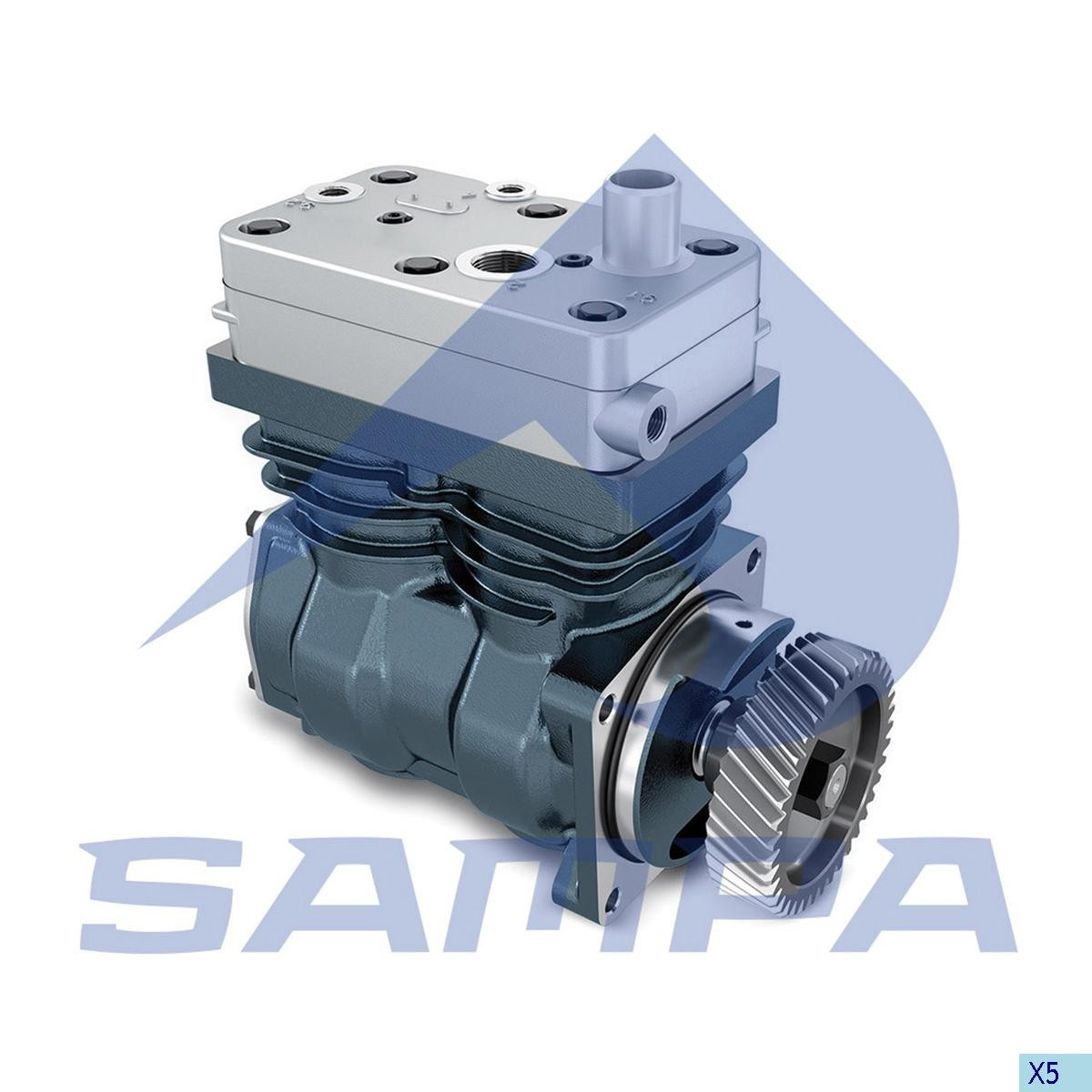 Bucsa compresor  Axor (Wabco 4126360000) 39х35х22 photo