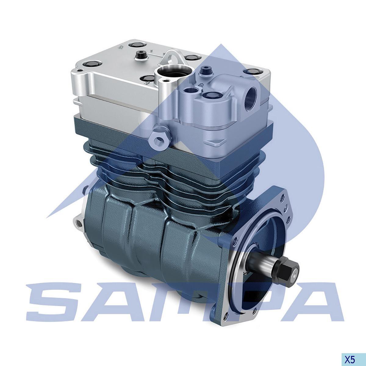 Compressor  W4127040080 (Volvo FH12 Euro 3) photo