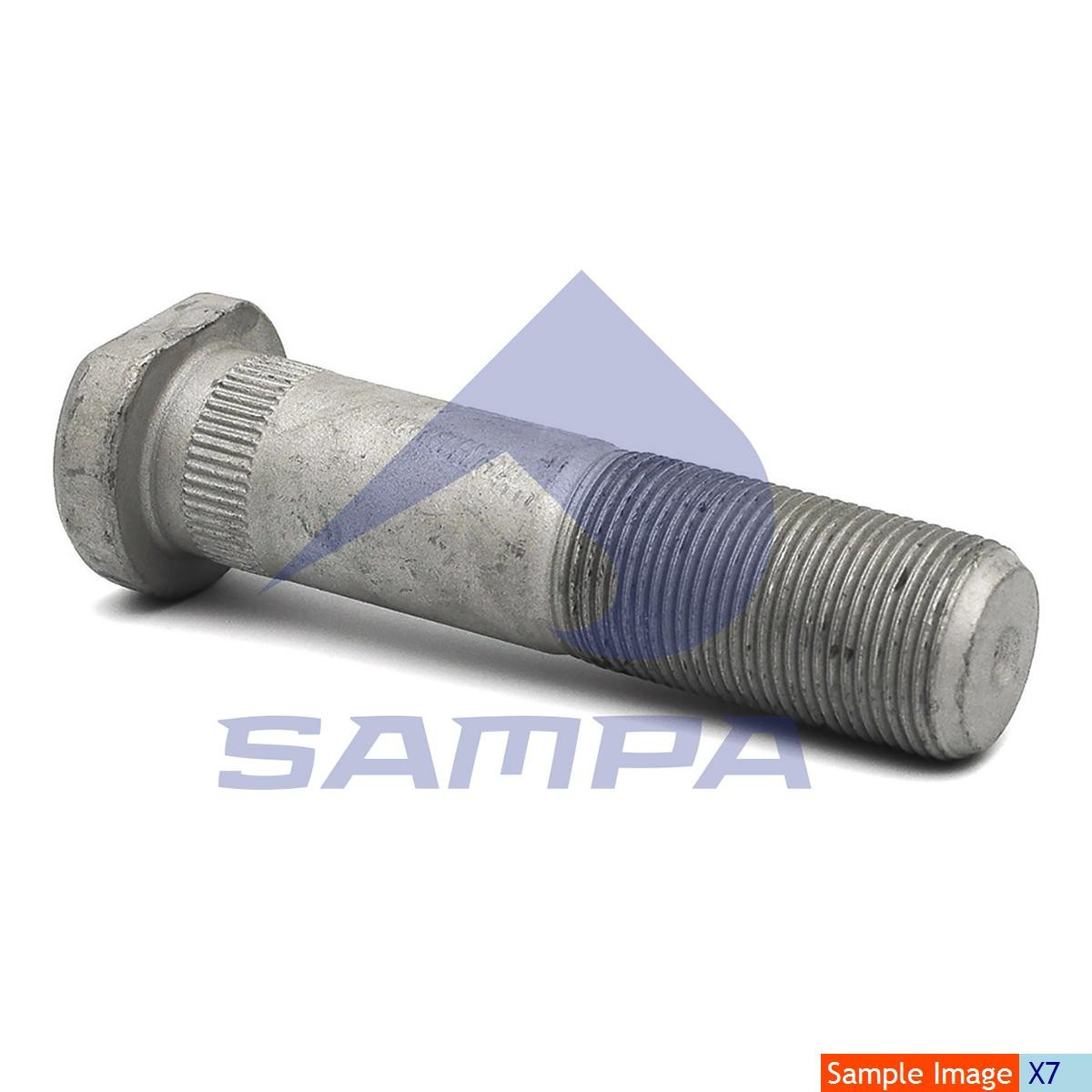 Шпилька ступицы Iveco М22х1,5 90мм photo