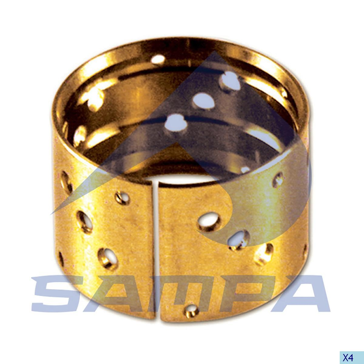 Втулка бронзовая SAF 55х60х40мм photo