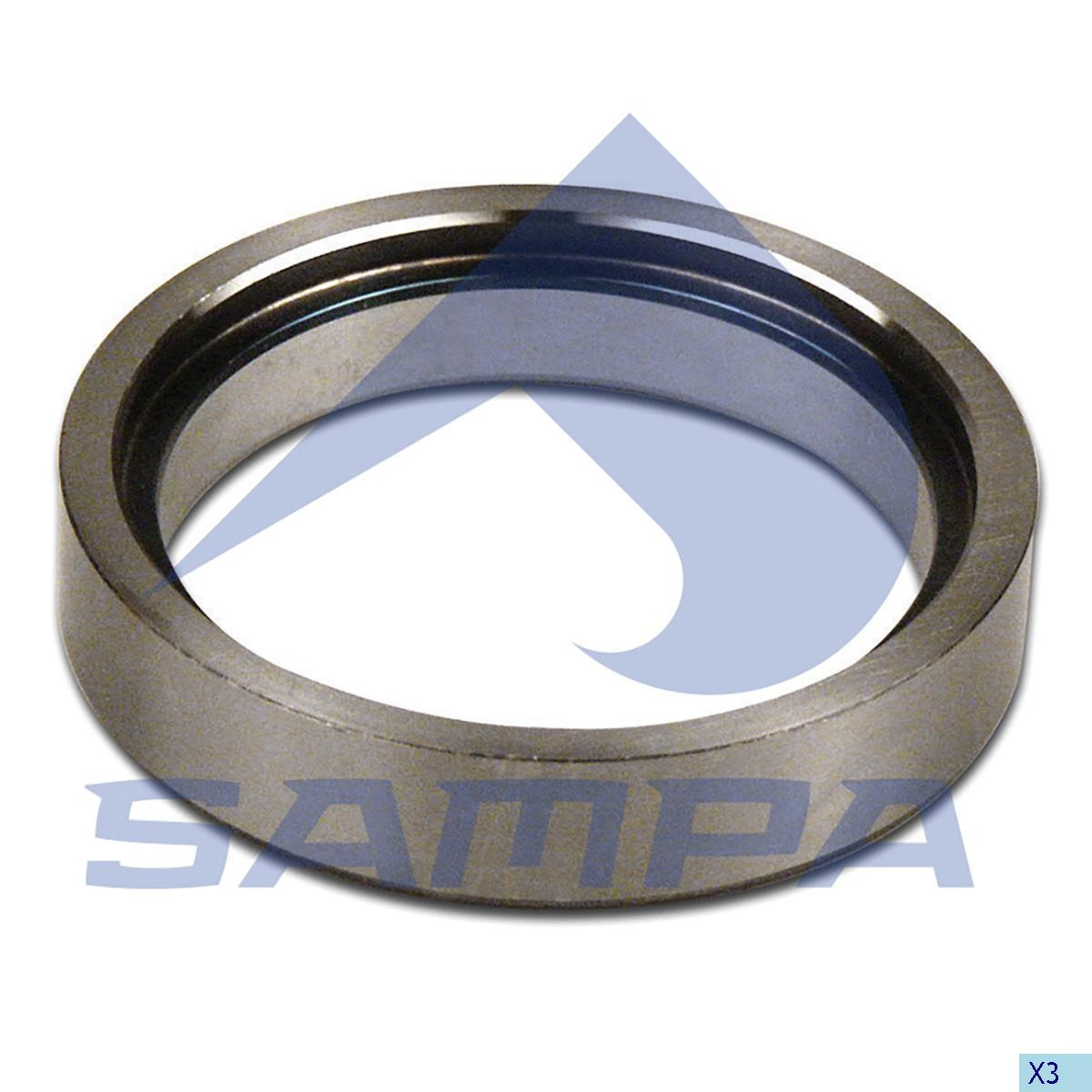 Центрирующее кольцо ступицы RVI 95х120х24 photo