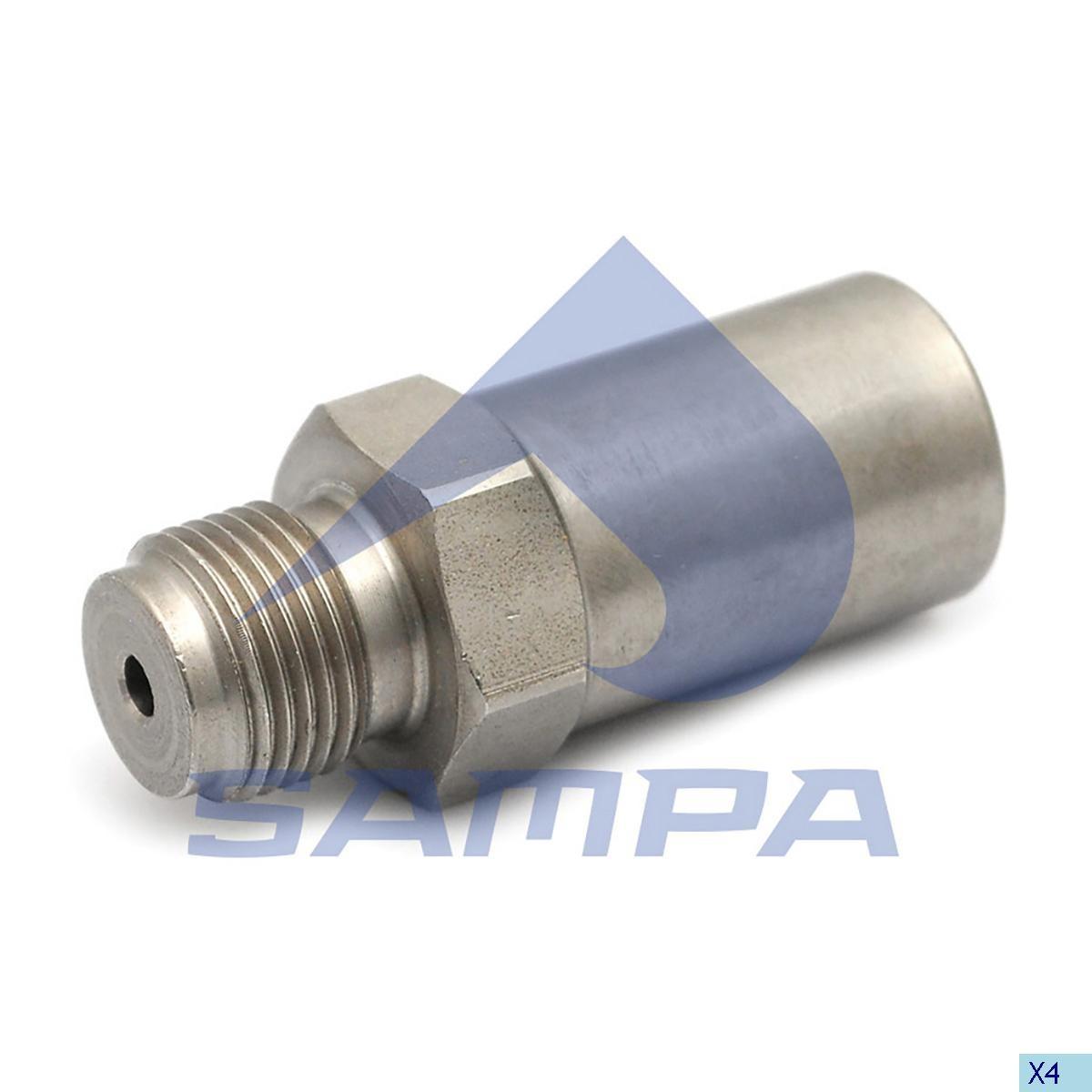 Клапан ограничения давления Renault/Iveco photo