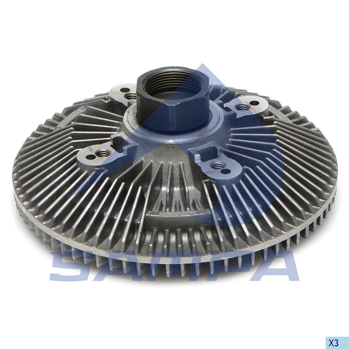 Cupla ventilator radiator Renault Mascot photo