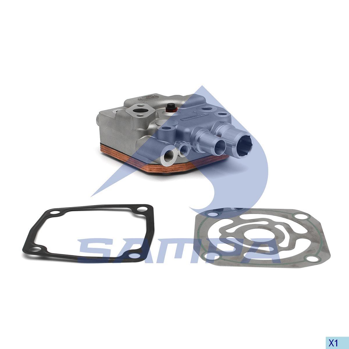 Chiulasa compresor Actros Euro 4/5 V6 photo