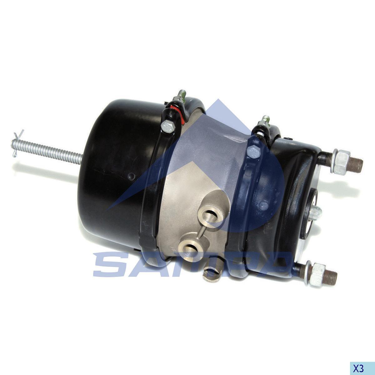 Енергоаккумулятор 24/24 (тормоз диск) (прицеп) (Shmitz) photo