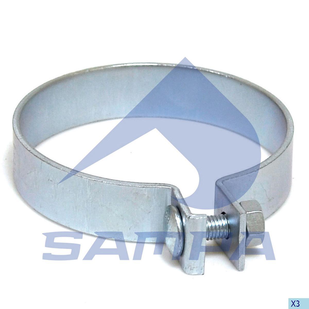 Colier sistem de esapament  Actros/Man  131 mm photo