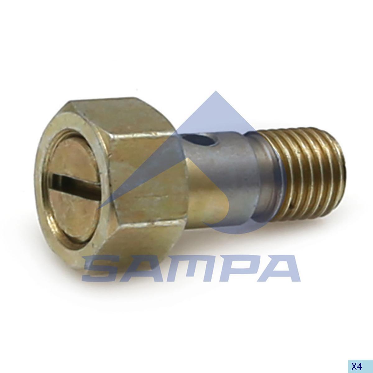 Клапан обратки М12х1,5 ( с болтом) photo