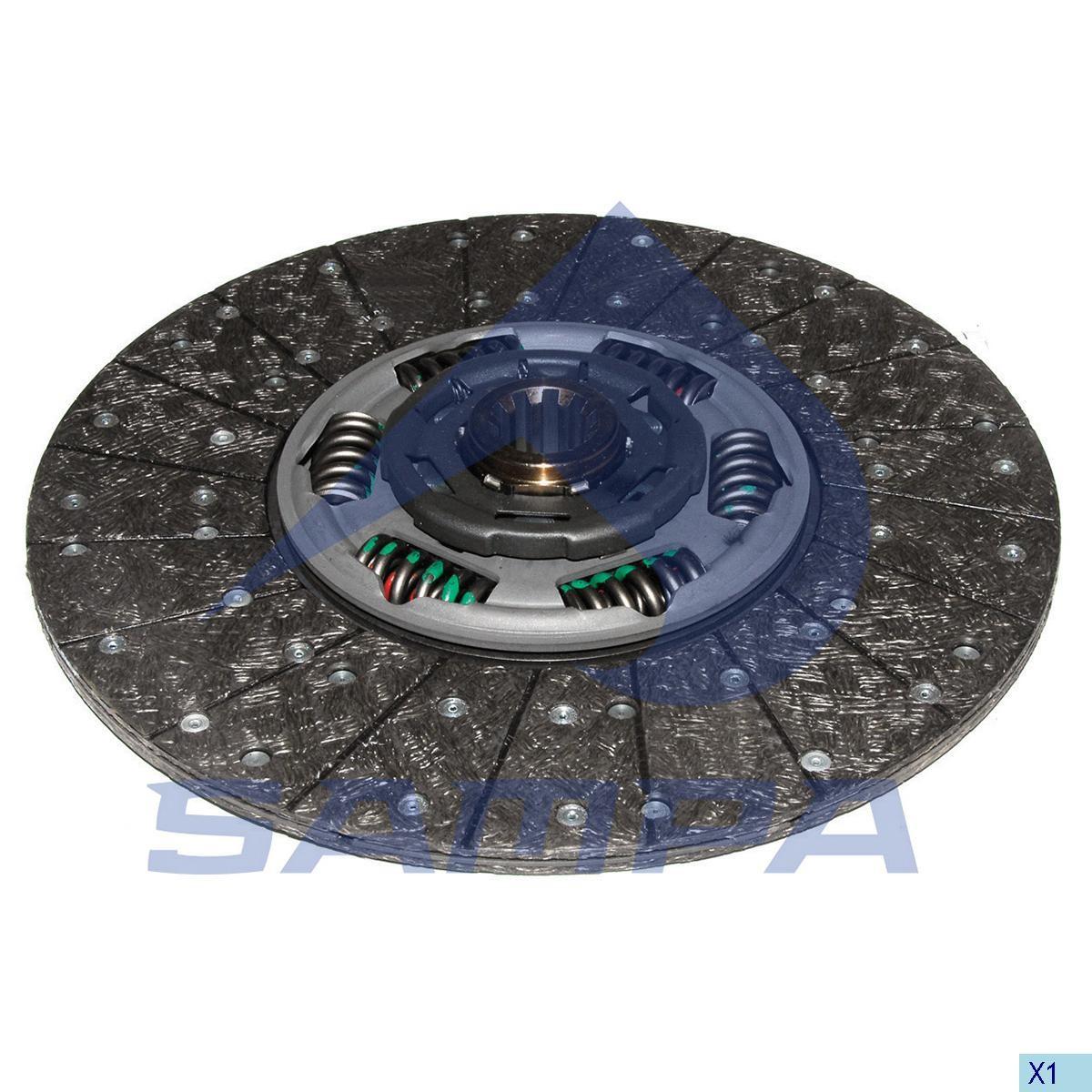 Disc ambreiaj  Z=10 D=44мм 362 мм MAN TGL (Sachs) photo