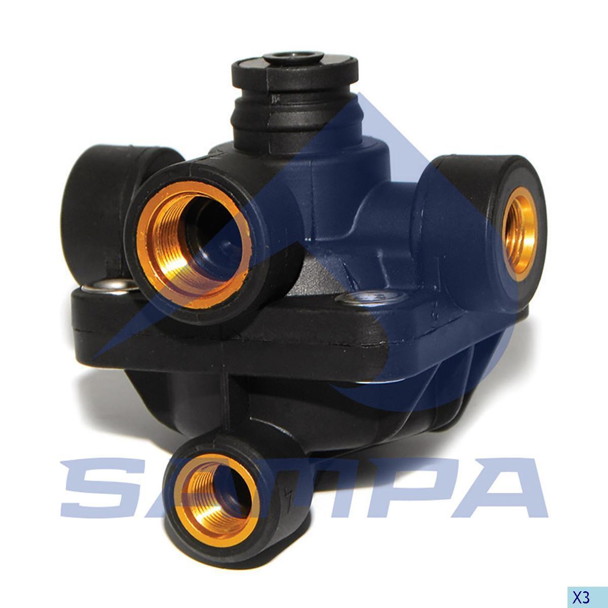 Ускорительный клапан MAN TGA (81521166065) photo
