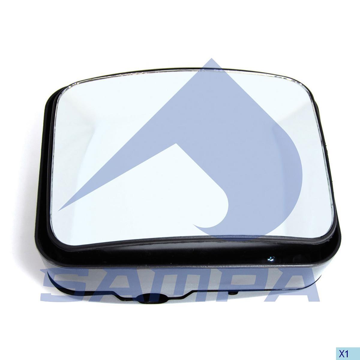 Зеркало MAN F2000 L2000  205x162(малое-округл photo