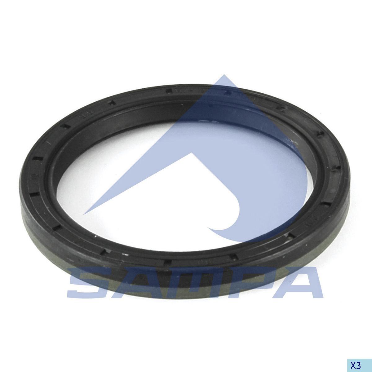 Simering 80x100x10/9,5  (Corteco) Atego/Axor photo