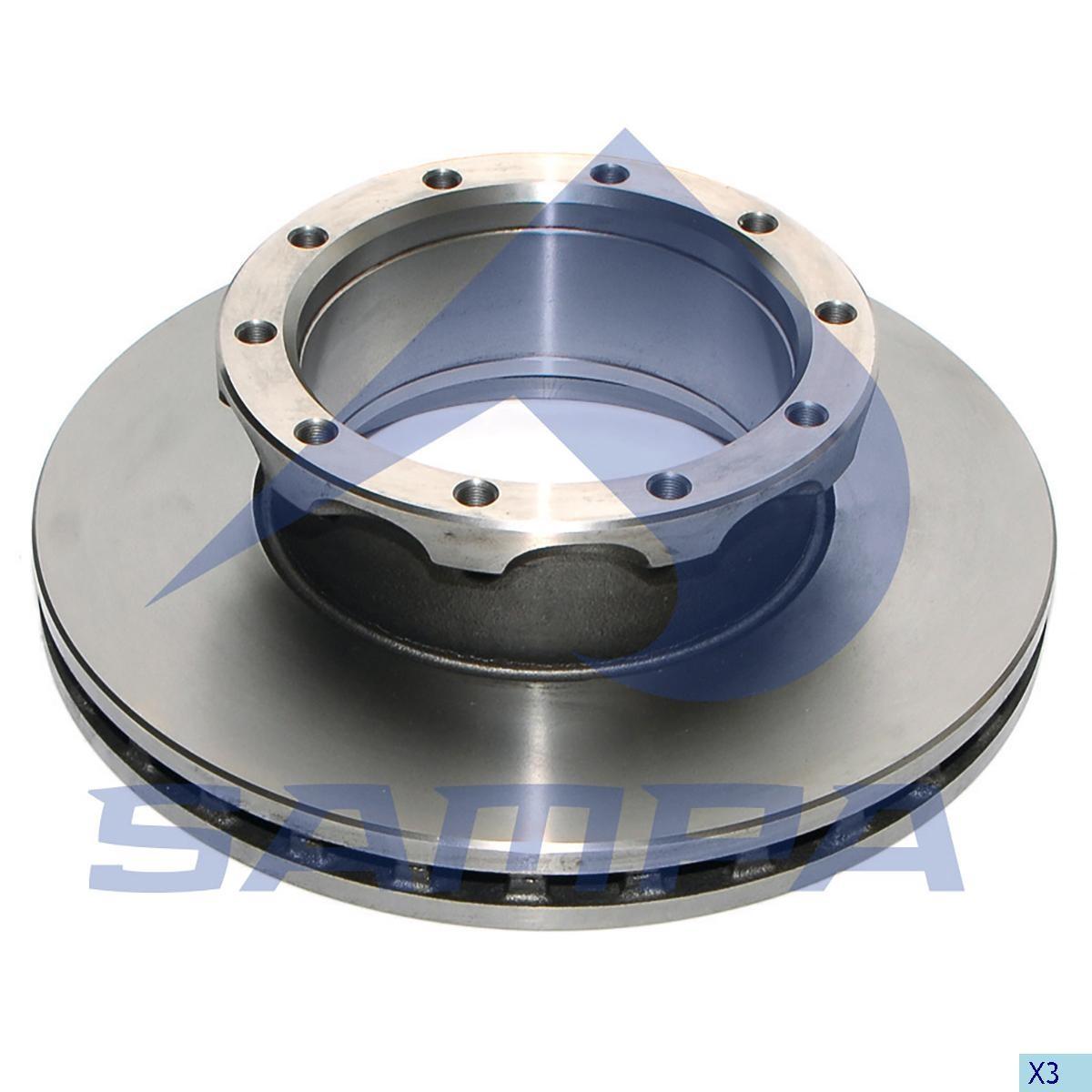 Тормозной диск Neoplan 430x45/10 photo