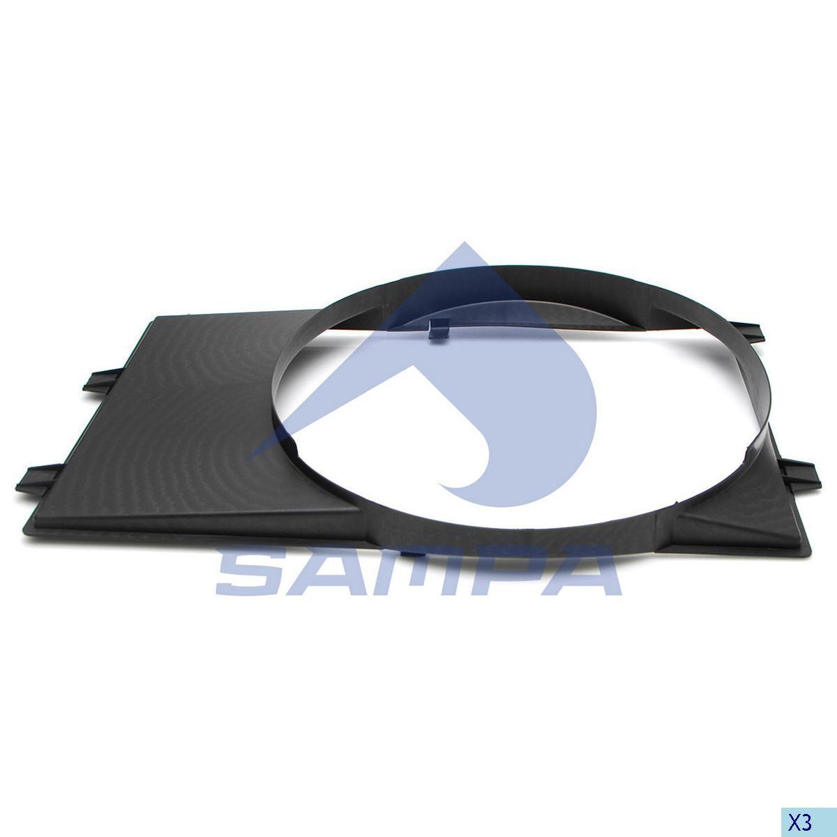 Дифузор вентилятоа Sprinter CDI photo