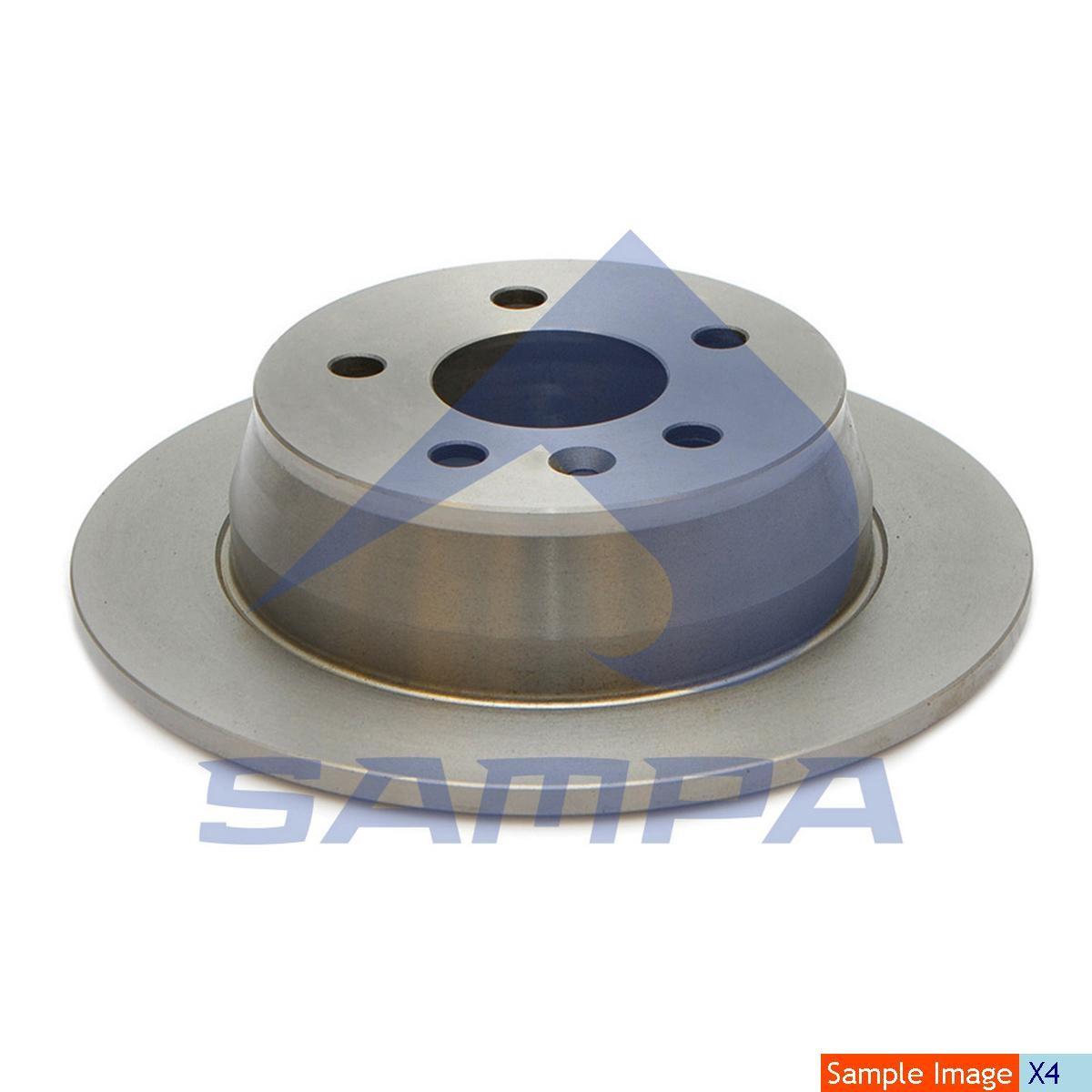 Тормозной диск Sprinter 298x16/6 photo