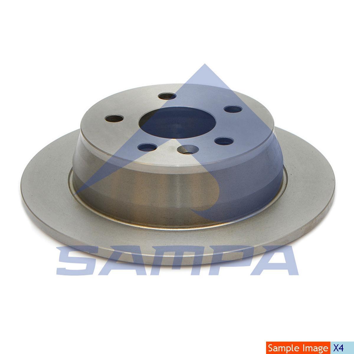 Disc frina  Sprinter 302x28/6 photo