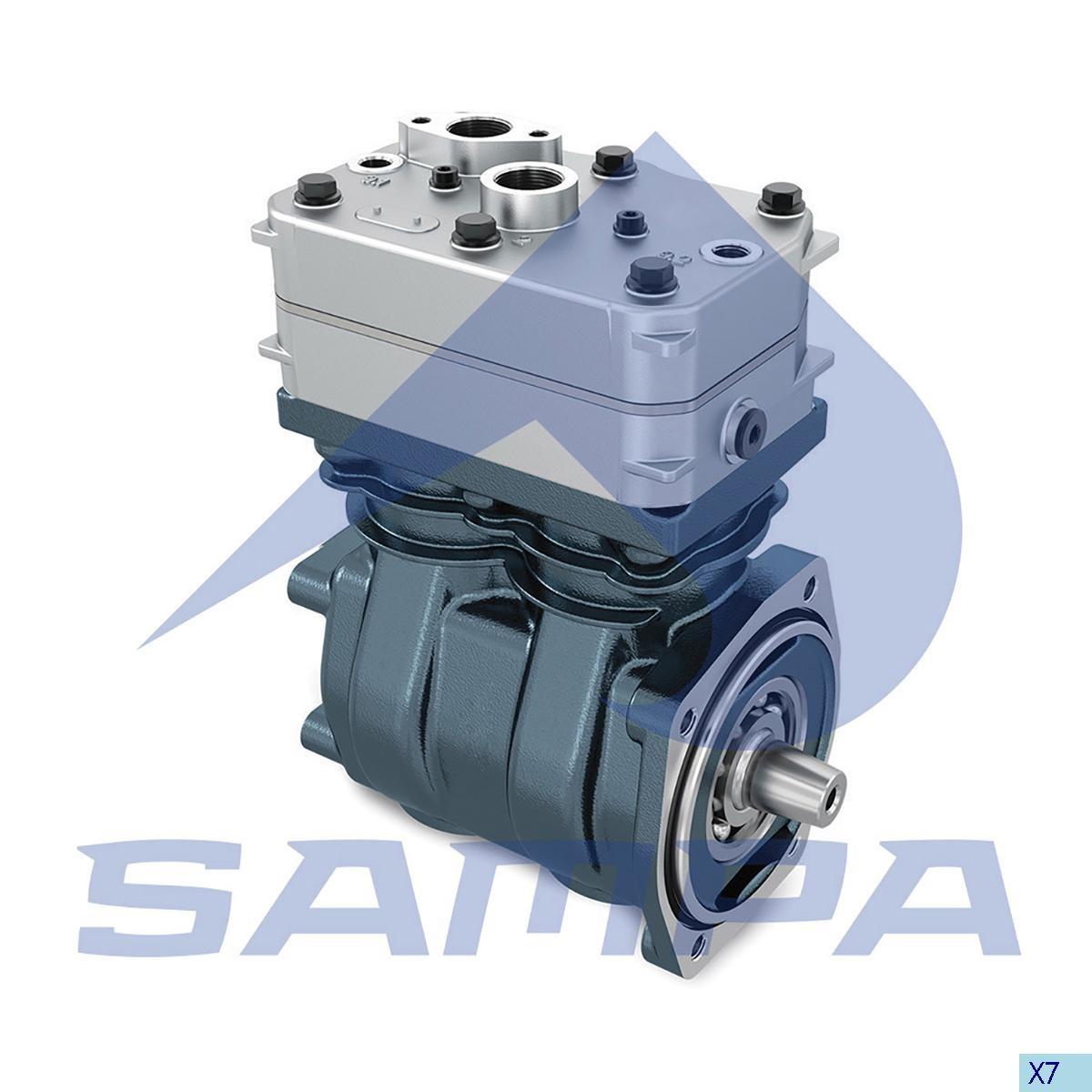 Compressor  W9115045060 (DAF 95XF Euro 3) photo