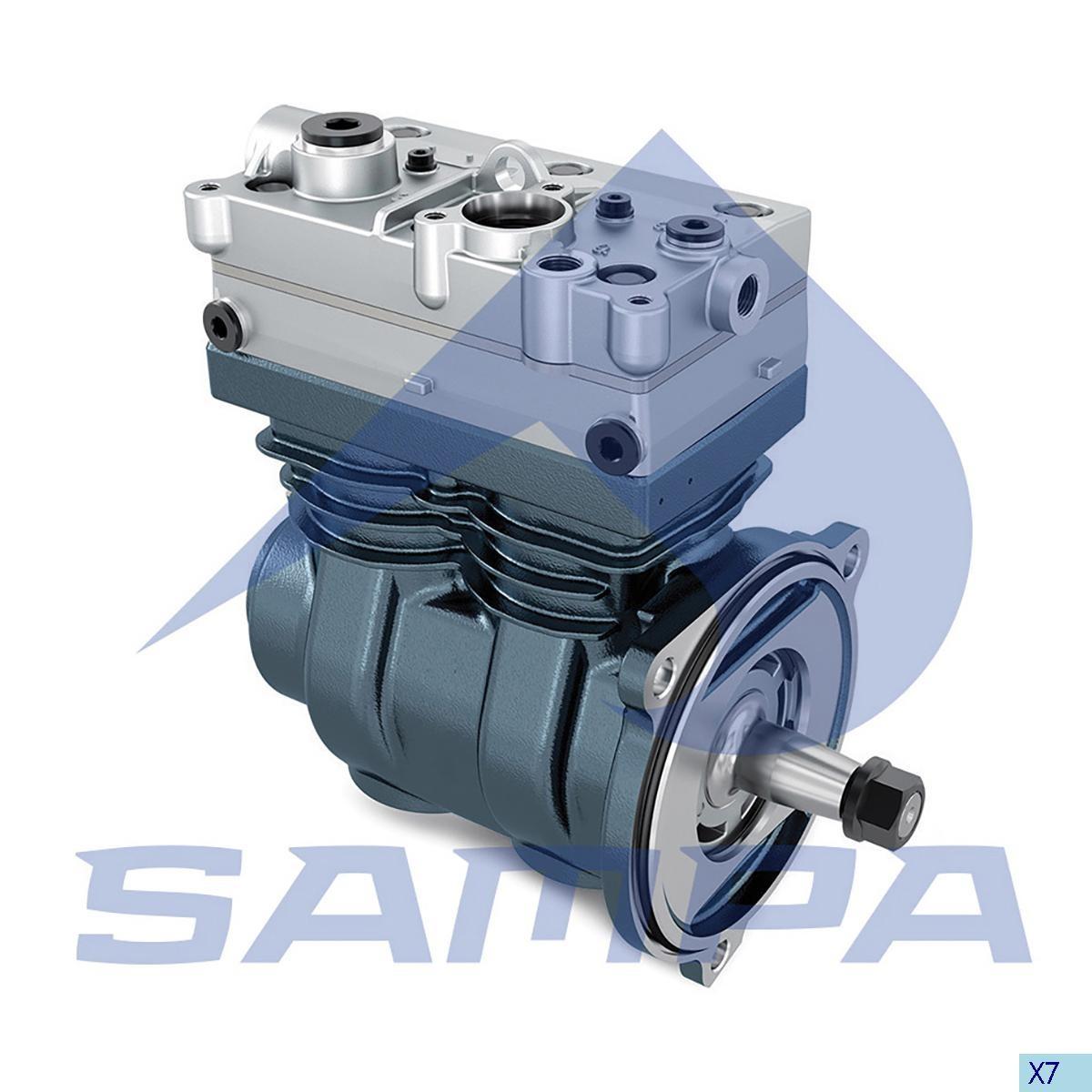 Compressor  W9125120040 (Volvo FH12 Euro 5) photo