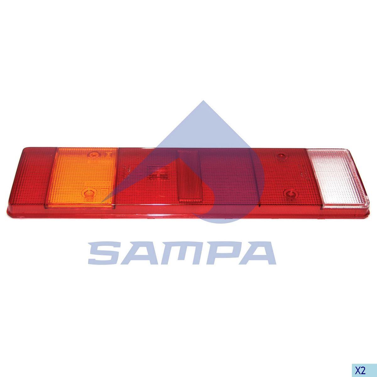 Стекло фонаря Scania,MAN, DAF photo
