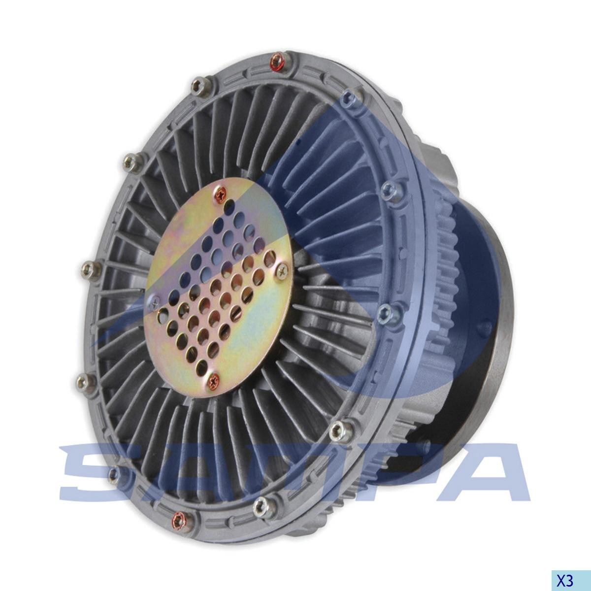 Cupla ventilator radiator Iveco photo