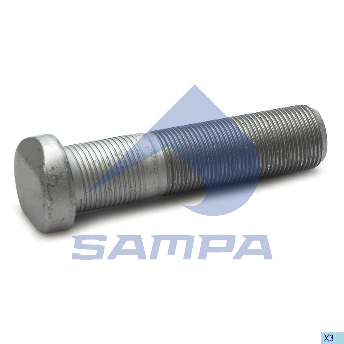 Bolt roata Actors М22х1,5 90мм photo