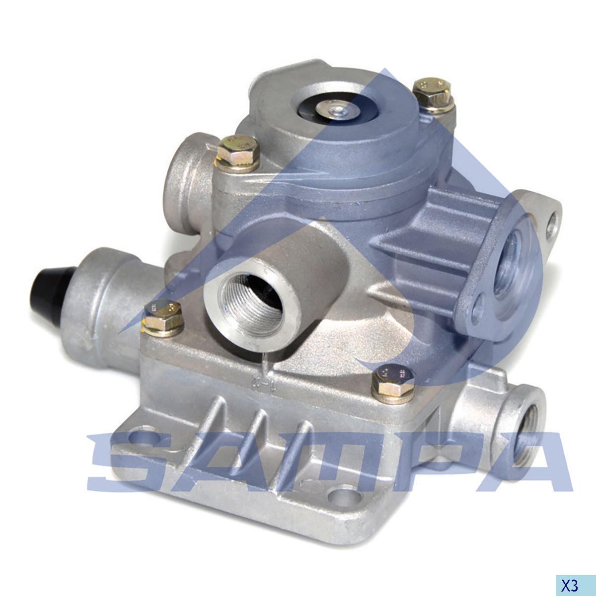 Ускорительный клапан Wabco 9710021500 (Wabco) photo