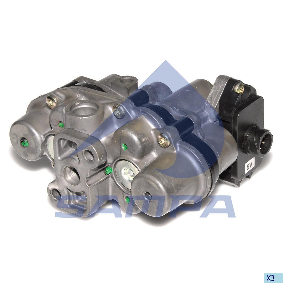 Четырех контурный кран DAF 95/105XF AE4528 (Knorr) (4 контура) photo