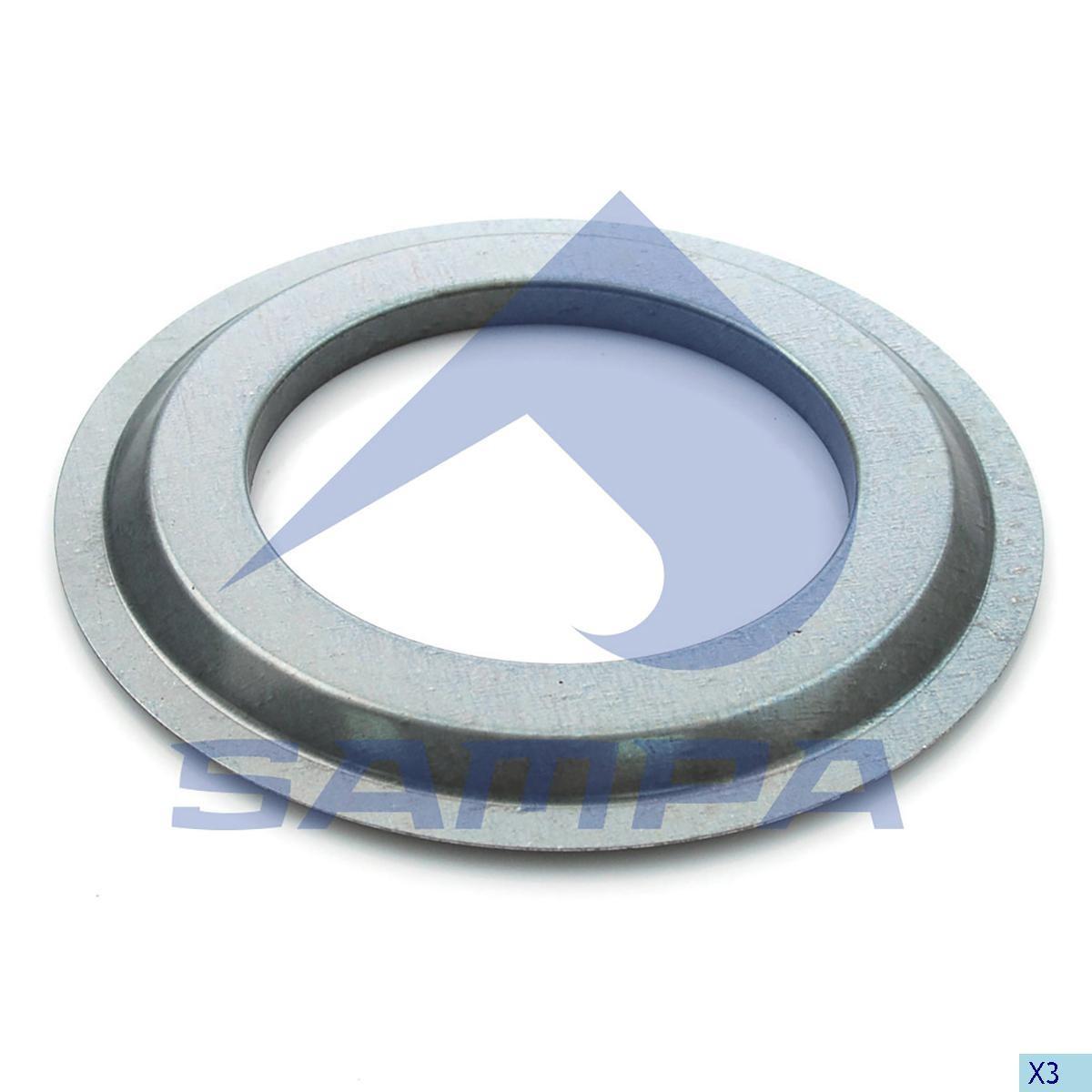 Уплотнительное кольцо BPW(102x168x10) photo
