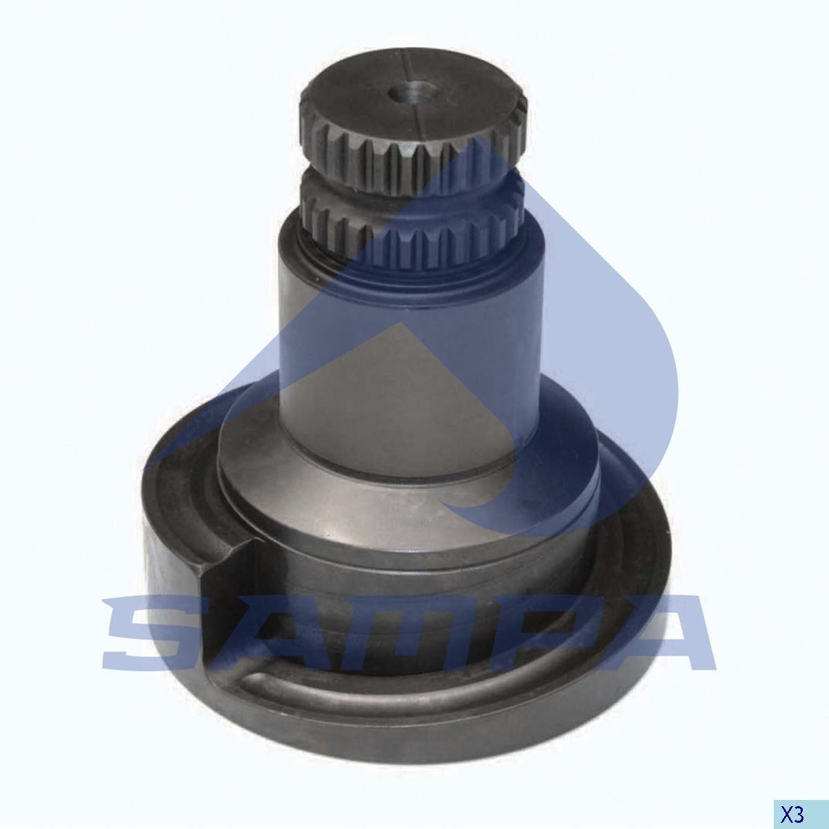 Механизм тормозного суппорта D3 ROR  L photo