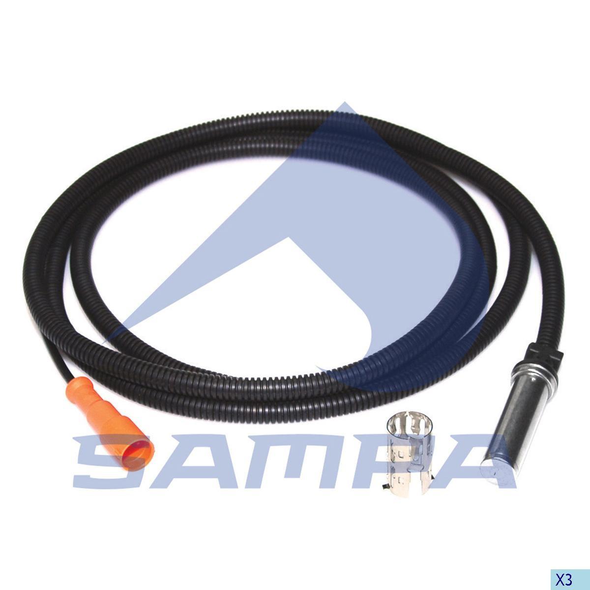 Датчик АБС прямой Actros L=2500mm photo