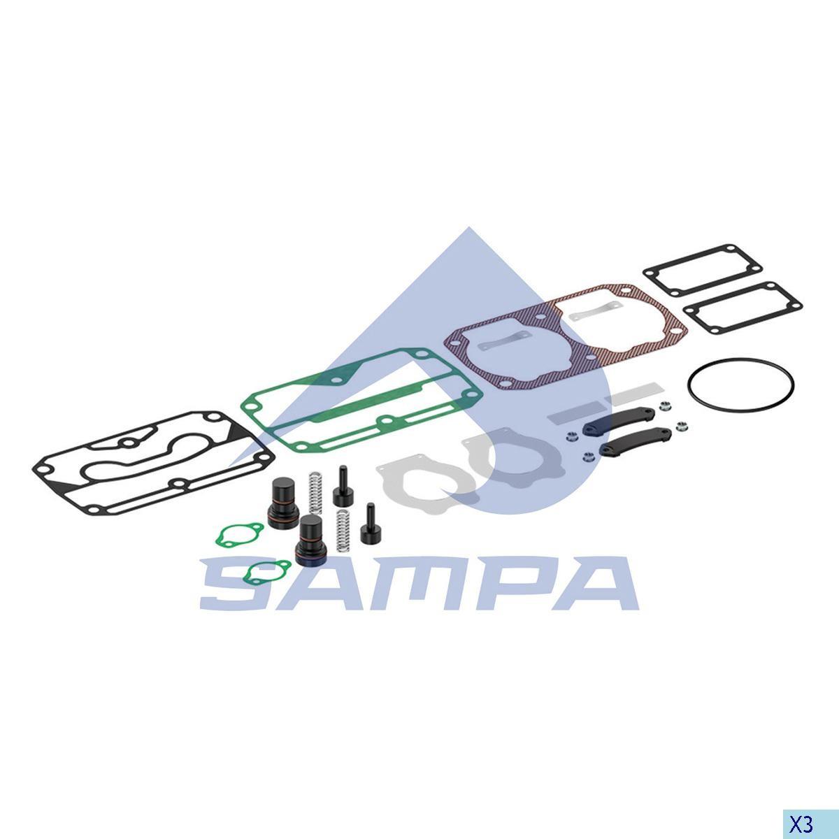 Р/к компрессора Iveco Stralis Knorr LP4857 с клапанами photo