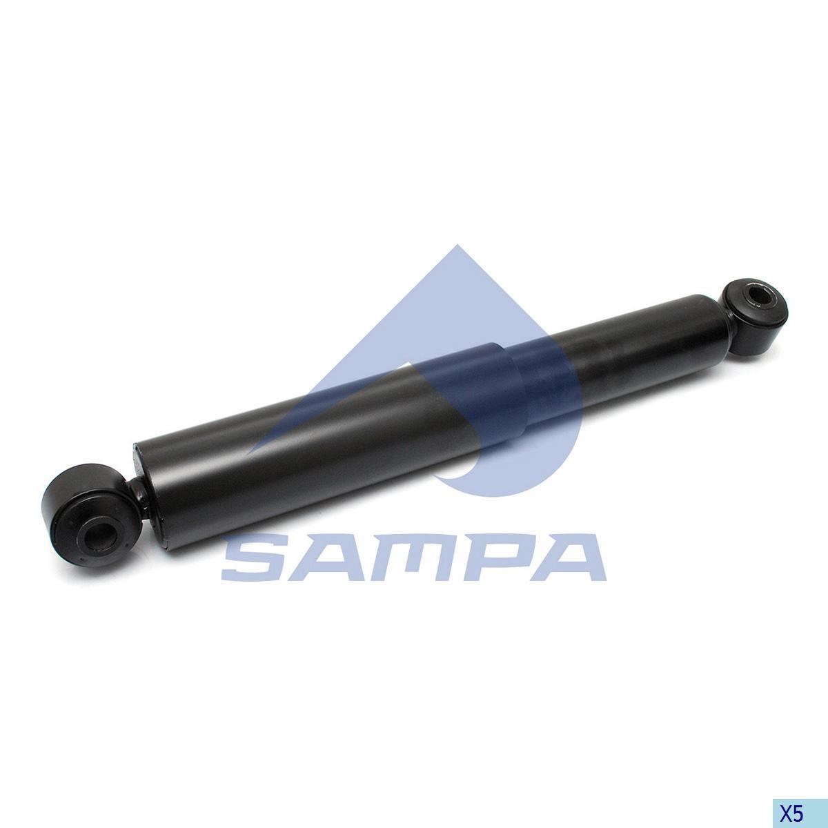 Аммортизатор задний Iveco (403x650) 20x20 Stralis photo