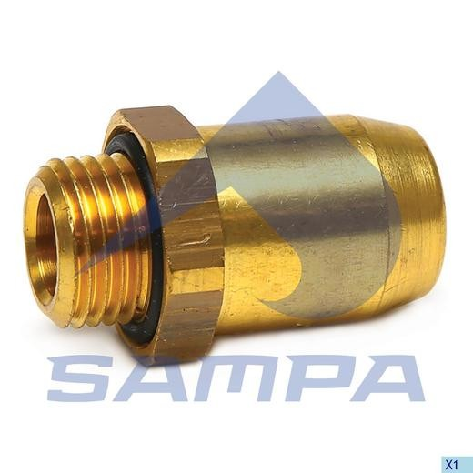 Fiting metal M12x1-6 photo