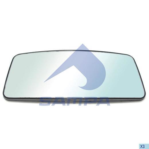 Стекло зеркала Actros (433x188) photo