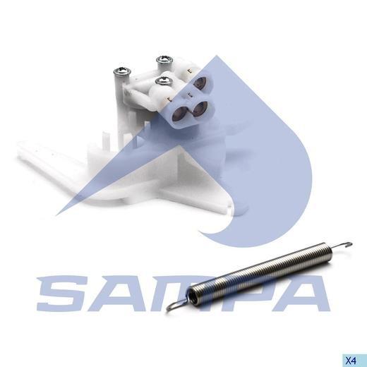 Клапан регулировки сидения с пружиной регулировки RVI/ Volvo FH/FM photo