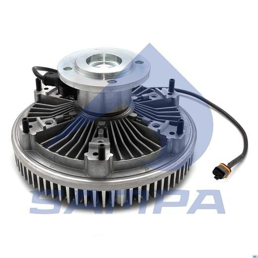 Гидромуфта MAN TGA/TGS/TGX Euro 5/6 с датчиком и вентилятором (Cojali) photo