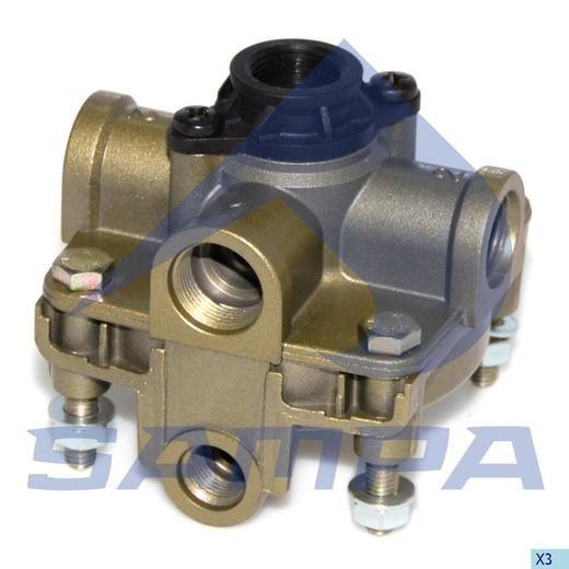 Ускорительный клапан Wabco 9730110100 (Cojali) photo