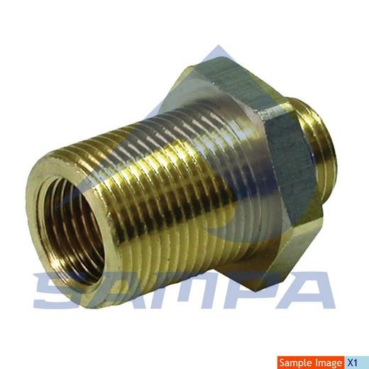 Переходник металический М22х1,5/М16х1,5 photo