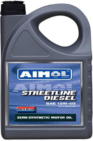 Масло 10W-40 AIMOL Streetline Diesel (полусинтетика) 4L photo