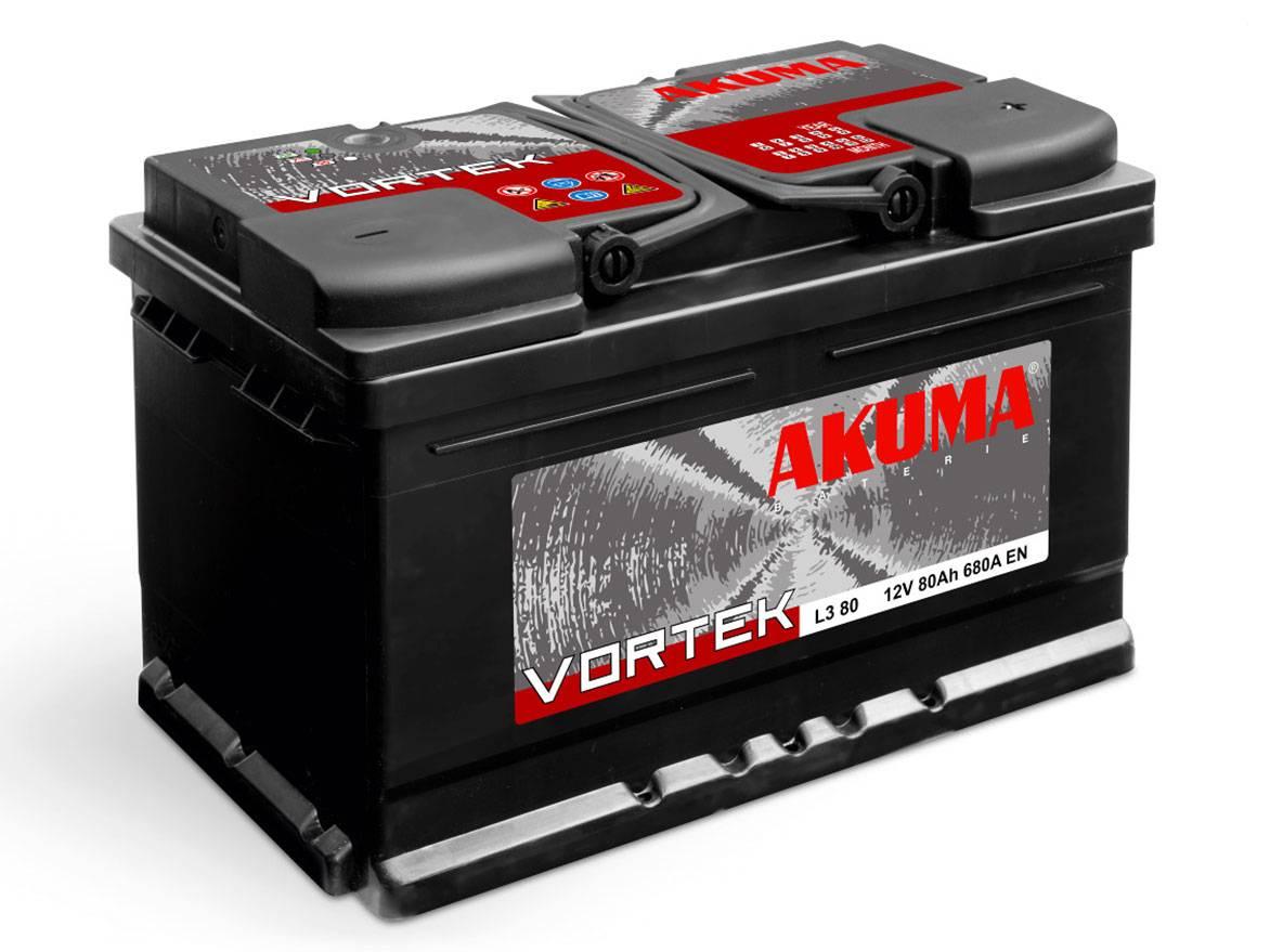 Аккумулятор 12V 74Аh (640 EN) Akuma photo